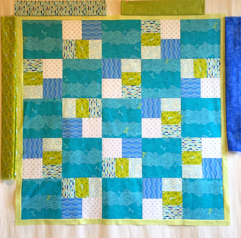 baby quilt border options