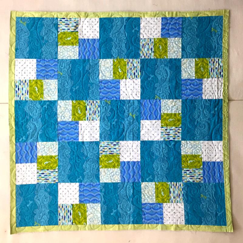 Stefan's quilt, front