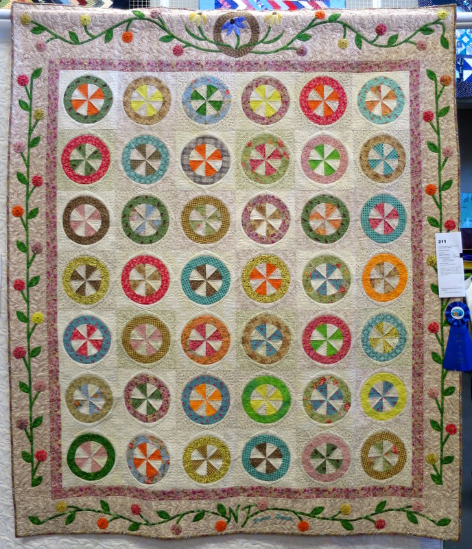 Prairie Sweets by Nancy Terhaar quilted by Lisa Taylor