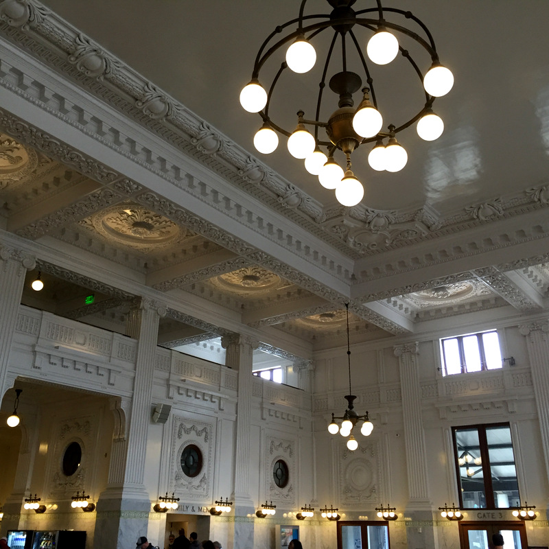 Seattle King St Station aug 2016