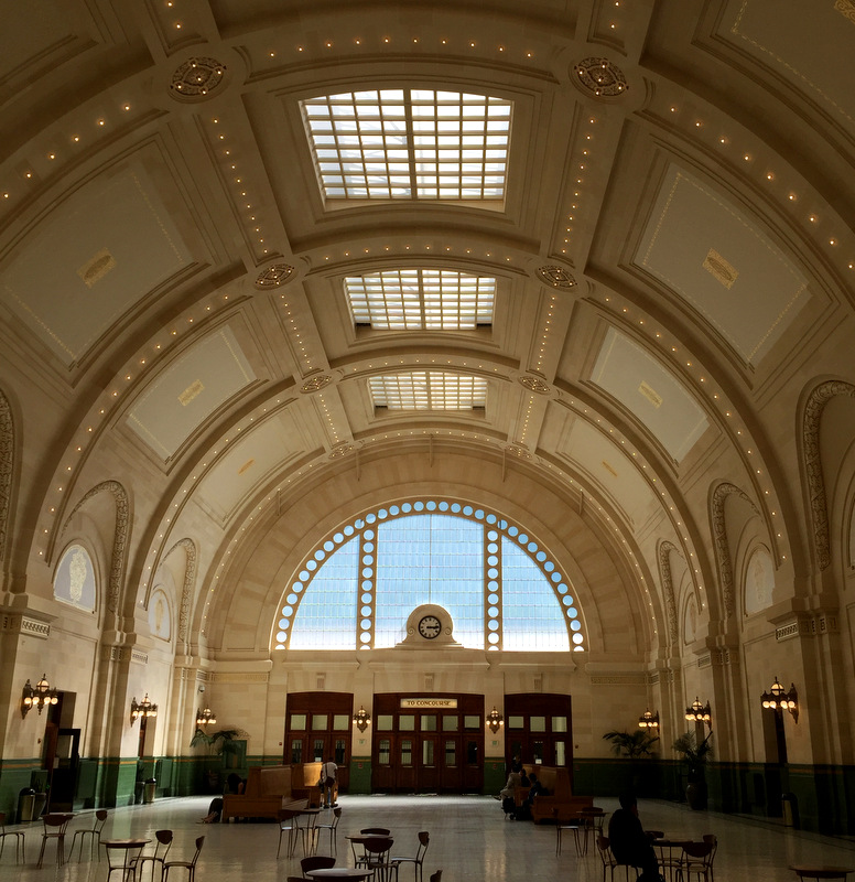 Seattle Union Station interior aug 2016