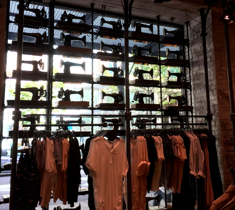 Seattle allsaints store aug 2016