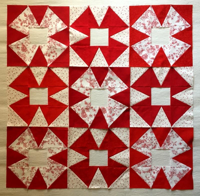 Windmill blocks 3x3
