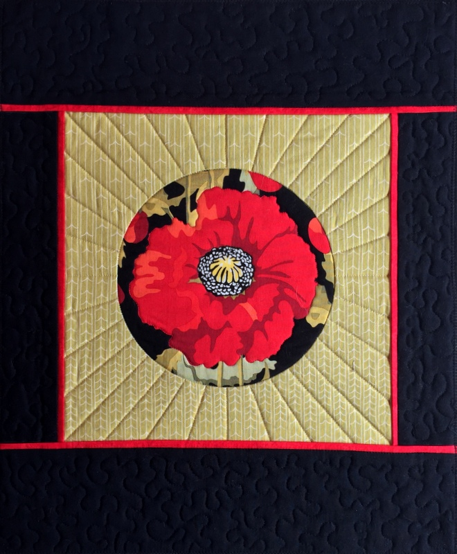 17-2 JBB circle panel quilted