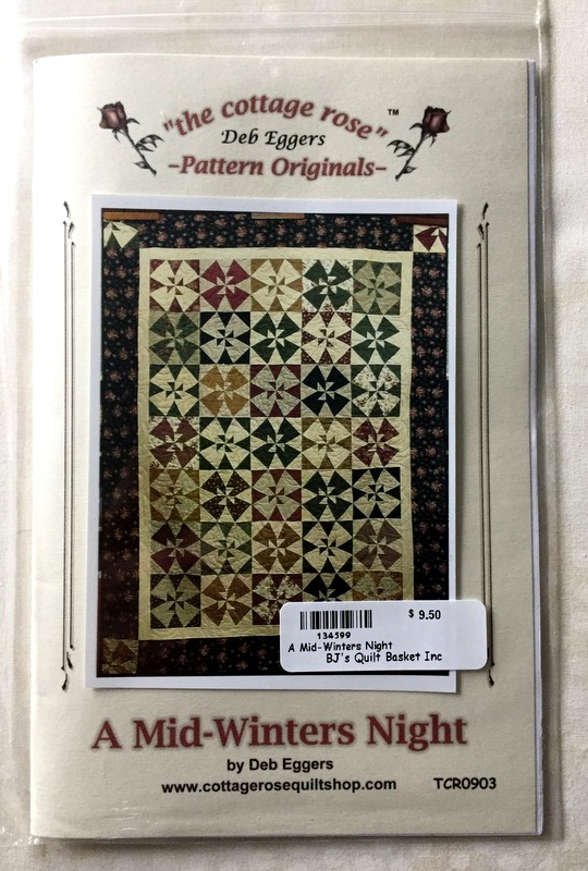 a mid-winters night quilt pattern
