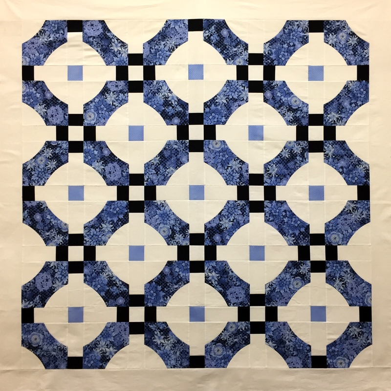 This Is My Supersized Version Of Sew Kind Wonderfuls Free Quilt Pattern Mini Mod Tiles The Original MMT Block Finishes At 10 1 2 Square Whereas