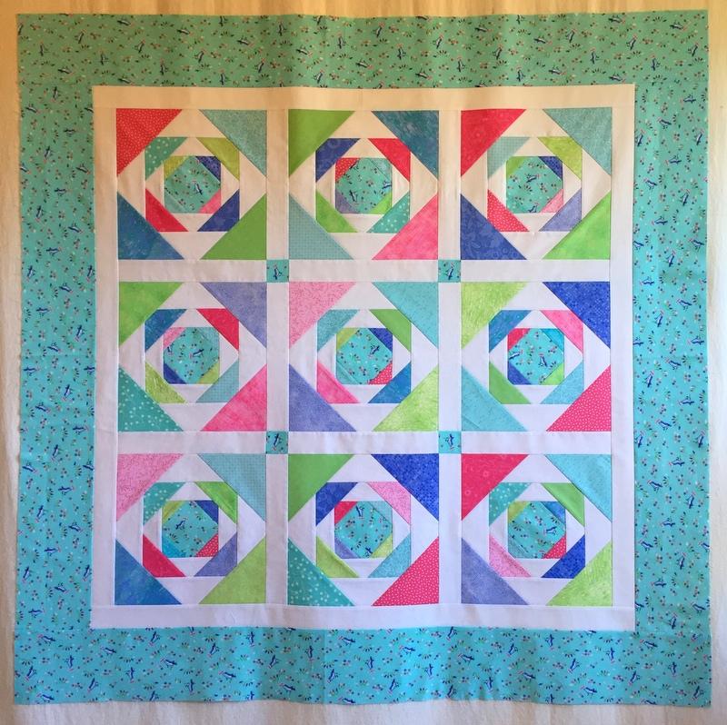 Pineapple Quilt Block First Light Designs
